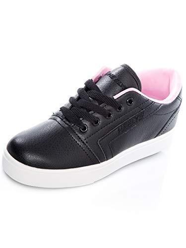 Heelys Unisex-Kinder GR8 Pro (he100393) Skateboardschuhe, Mehrfarbig (Black/Light Pink 000), 34 EU