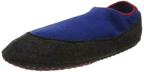 FALKE Unisex Kinder Cosy Slipper Hausschuh-Socken, Blau (Cobalt Blue 6054), 37-38 (11-12 Jahre)