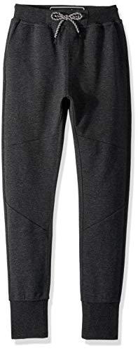 Quiksilver Big Boys' Izu Sula Slim Bonded Sweatpants,Large/14,Dark Grey Heather