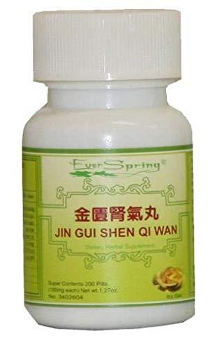 JIN GUI SHEN QI WAN ( rehmannia 8–kidney QI Pill from THE GOLD )–200克拉
