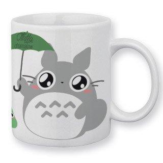 Mug Totoro Parapluie by Fluffy Chamalow - Fabriqué en France - Chamalow Shop