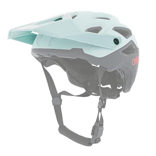 O'NEAL   Recambio Visor Casco Bicicleta   Mountain Bike MTB Downhill Freeride   Recambio Visor Casco Pike Solid   Adulto   Azul Rojo   Talla única