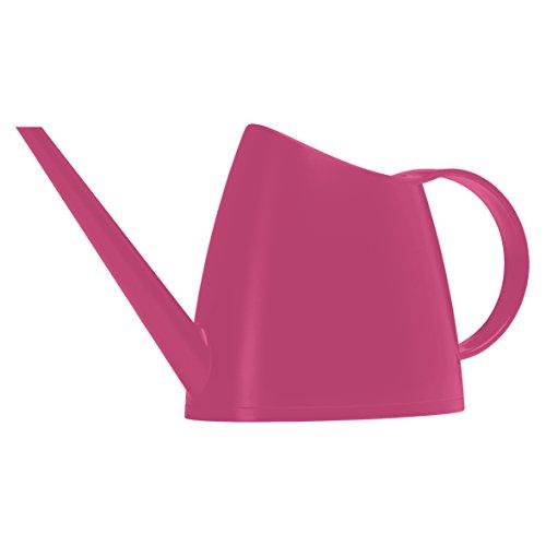 Emsa Gießkanne, Matt, Volumen 1,5 Liter, Kunststoff, Pink Hell, Fuchsia, 517739