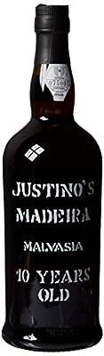 Justino`s Malvasia 10 Years Old Non Vintage Wine 75 cl
