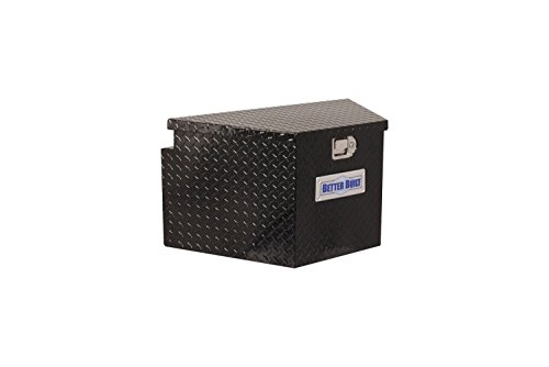 Better Built 66212322 Trailer Tongue Tool Box, Black