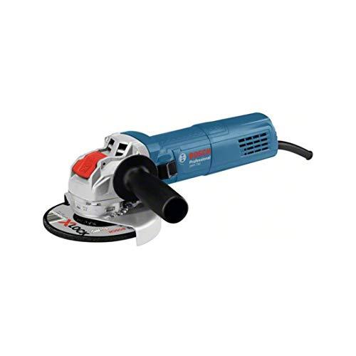 Bosch Professional 06017C9100 haakse slijper GWX 750-125 (750 W, voor X-LOCK-accessoires, schijfØ: 125 mm, in doos), blauw