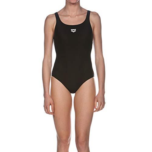 arena Damen Sport Badeanzug Dynamo (Schnelltrocknend, UV-Schutz UPF 50+, Chlor- /Salzwasserbeständig), schwarz (Black), 36