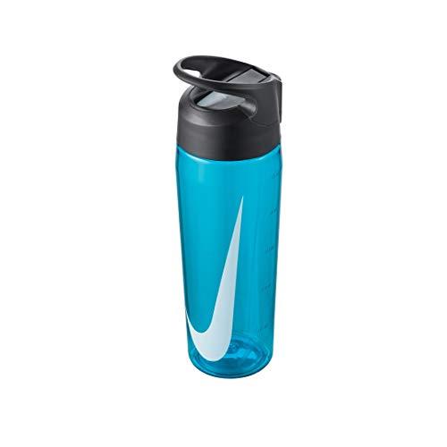 Nike TR Hypercharge Straw Bottle 24oz/709 ml blue fury/anthracite/white