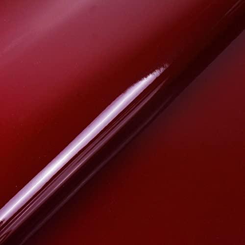 Nueva Calidad Suave Duradera Rollo De Cuero De PVC Espejo Tapicería De Polipiel Muebles Sofá Silla Coches Bolsas Fabricación Artesanal Material Costura Manualidades DIY 1pieza=100(Color:rojo marrón)