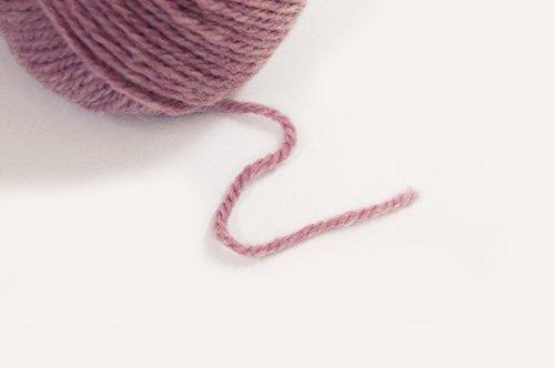 『【10玉1袋】毛糸 melange サンロー毛混メランジ 並太 510.ライトパープル』の2枚目の画像