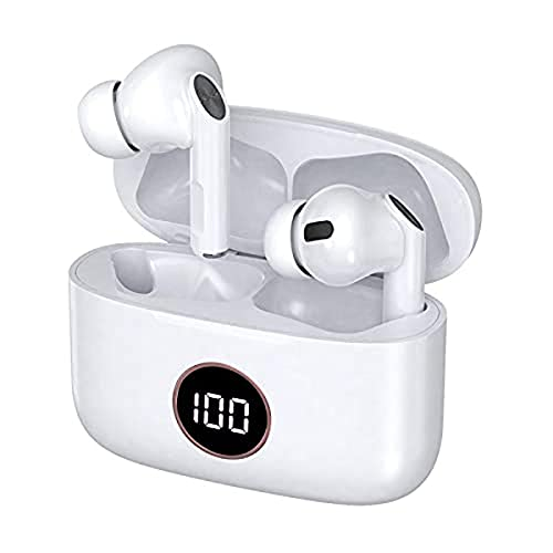 Auriculares Stereo Bluetooth Dual Pod Earbuds LCD COOL Air Pro Blanco Marca Cool