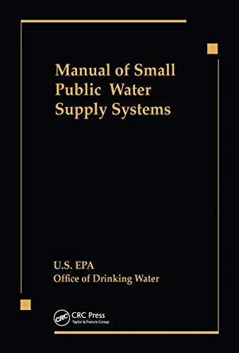 Manual of Small Public Water Supply Systems (English Edition)