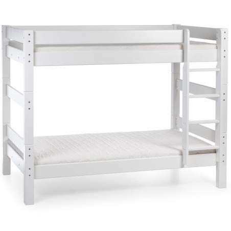 Alfred & Compagnie stapelbed, grenen H169, 120 x 200 cm, Lilja wit
