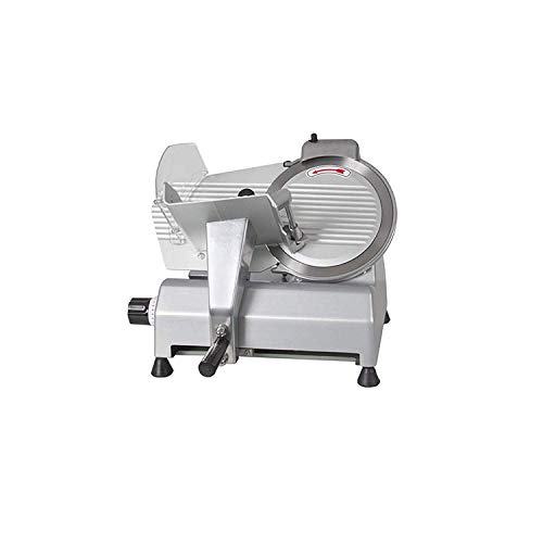 VEVOR 10' Blade Commercial Deli Meat Cheese Food Slicer, 10 Inch, Silver
