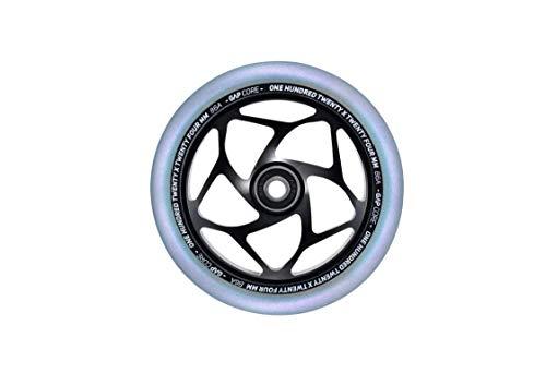 Blunt Stunt - Rueda para patinete (120 - 24 mm de ancho), color negro