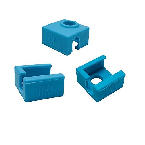 3D printer verwarming blok siliconen sock cover case cover MK7 MK8 MK9 hotend voor Ender 3 Creality CR-10 10 S S4 S5 ANET A8 Eewolf