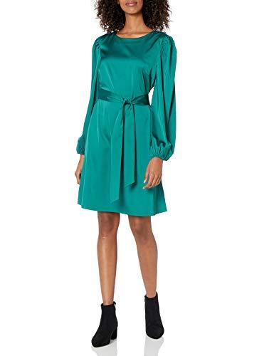 The Drop Robe pour Femme, Extensible, Soyeuse, avec Ceinture, par @shopdandy