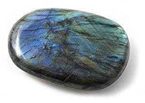 Labradorita Rodillo 4,5 cm piedra protezione terapeutas