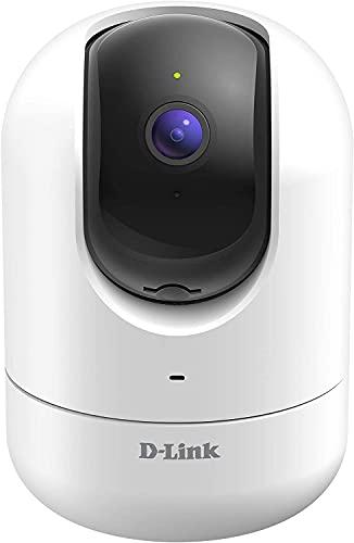 D-Link DCS-8526LH Caméra mydlink Full HD motorisée Wi-Fi & Ethernet -1080p à 30 i/s (1920x1080) Détection de personne,suivi automatique de mouvement -Support mydlink APP/Google Assistant/Alexa/IFTTT