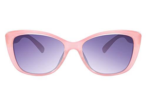FEISEDY Clásico Gafas de Sol Polarizadas para Mujer y Hombre Gafas de sol Ojos de Gato con Lentes de protectora 100% UV400 B2451