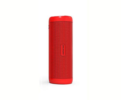 Intelligenter Lautsprecher Audio Taschenlampe Hopestar P4 Bluetooth Outdoor-Reiten Wiederaufladbare Tragbare Audio-Taschenlampe, Gules