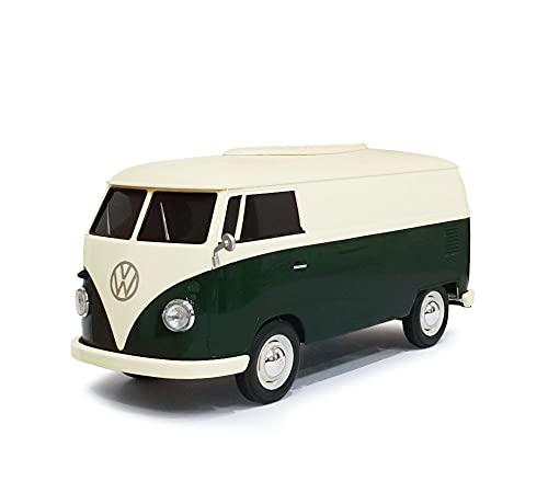 ティッシュケース+(プラス) フォルクスワーゲンT1バス カップホルダー付き ツートーングリーン T1 bus tissue case 2tone green
