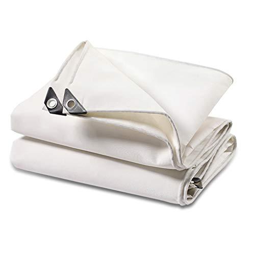 SAP- Parasol de tela gruesa impermeable de lona impermeable para coche, toldo sin olor, 4x4m