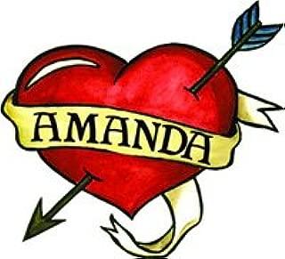 Amanda Temporaray Tattoo