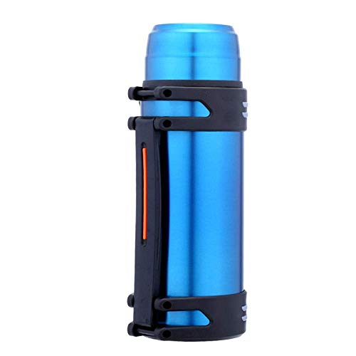 Wzmdd 2L Grote Capaciteit Roestvrij Staal Vacuüm Flasks Thermos Cup Koffie Thee Melk Reizen Mok Geïsoleerde Water Fles rood
