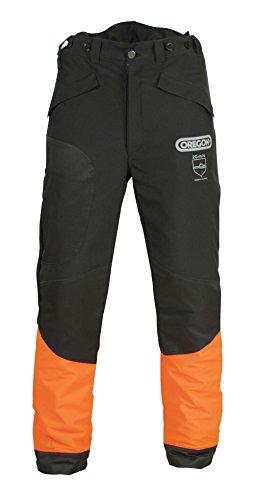 Oregon WAIPOUA® Schnittschutzhose, Bundhose, Forsthose (XXXL62/64, schwarz)