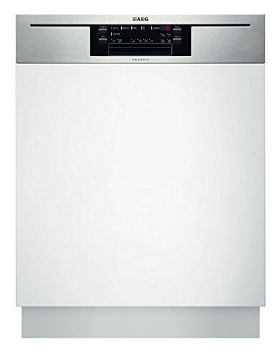 Lavavajillas AEG-Electrolux F66702IM0P parcialmente integrado, A++, 270 kWh/año, 15 MGD, 3080 litros/año, limpieza perfecta y cuidado óptimo del cristal