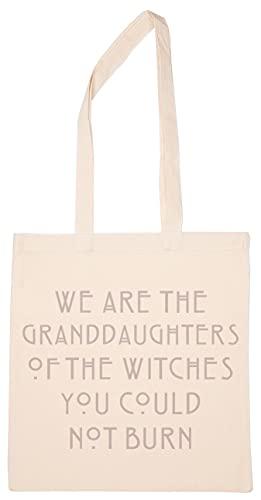 We Are The Granddaughters Of Witches You Could Not Burn Wiederverwendbar Einkaufen Lebensmittelgeschäft Baumwolle Tasche Reusable Shopping Bag