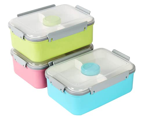 NC 3 salade voedsel opslag container te gaan lunchbox Bento Box 52 oz Bento Box met verwijderbare lade & dressing…