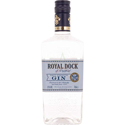 Hayman's Royal Dock Gin Navy Strength 57,00% 0,70 Liter