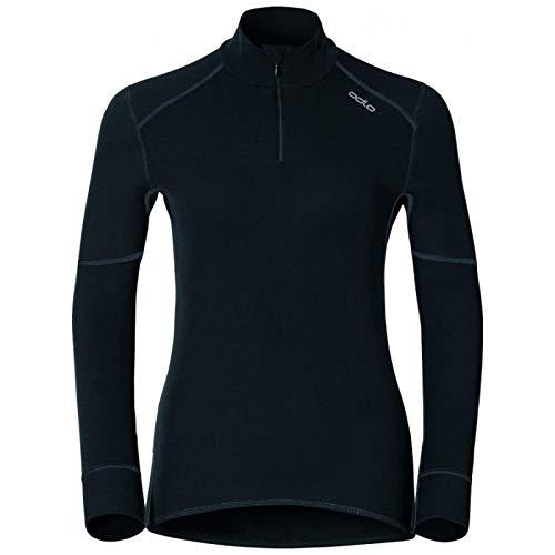 Odlo - Tee Shirt X Warm Zip Femme L - Noir