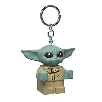 IQ Lego Star Wars The Mandalorian The Child Keychain Light - 2 Inch Tall Figure  KE179