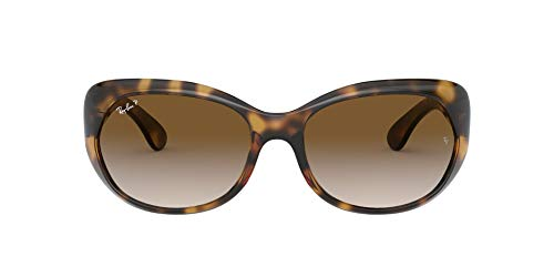 Ray-Ban RB4325-710/T5 Gafas de sol, Havana, 59 Unisex
