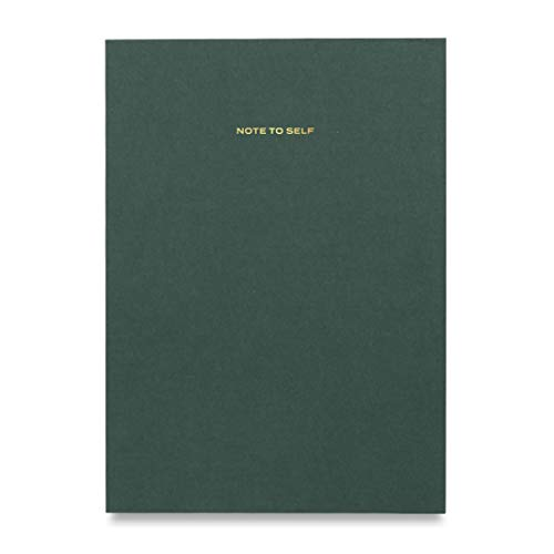 Wit & Delight - Note to Self Series Notebook/Journal | Size 6 X 8.25 | 80 Lined Cream Pages | 100 GSM Quality Paper | Green