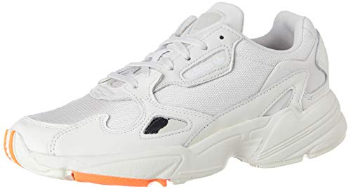 adidas Falcon W, Zapatillas de Gimnasio Mujer, Off White/Raw White/Active Purple, 36 2/3 EU