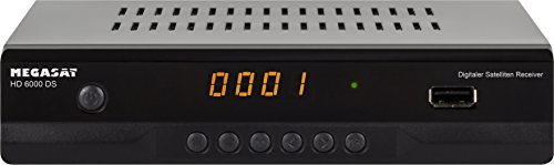 MegaSat HD-Receiver, 1080 P Schwarz