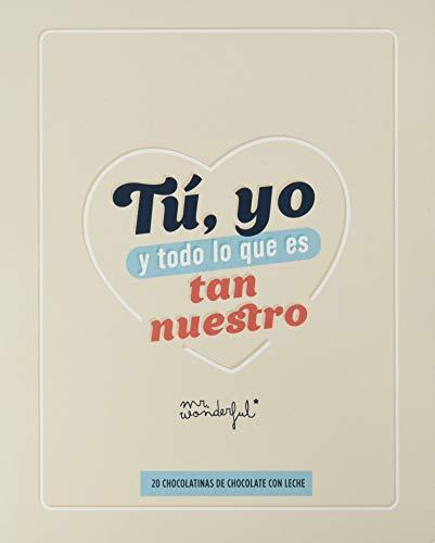 Mr. Wonderful Libro con chocolatinas, Papel, Multicolor, estándar