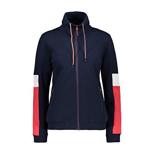F.lli Campagnolo Nachricht eingeben CMP Fleecejacke Jacke Woman Jacket dunkelblau atmungsaktiv elastisch wärmend (38)