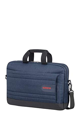 American Tourister Unisex Adult Briefcase, Midnight Navy, 44cm=17.32''
