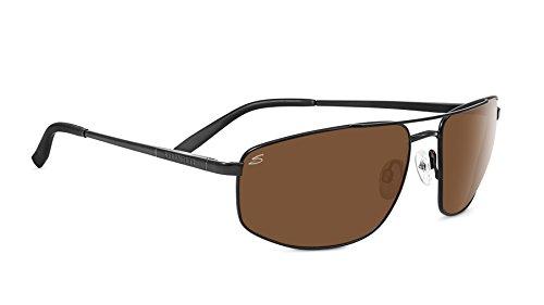 Serengeti Eyewear Sonnenbrille Modugno, Satinack/Polarized Drivers, 8406