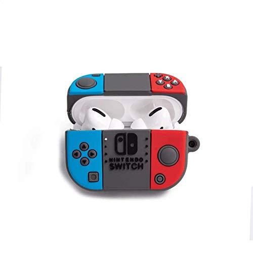 GILOOT Funda de Silicón para AirPods Pro Nintendo Switch, Estuche Protector para audífonos Bluetooth de Apple Nintendo Switch