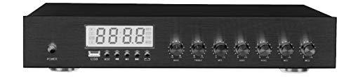 Amplificatore stereo 8x30 Watt per diffusione sonora multistanza - KARMA