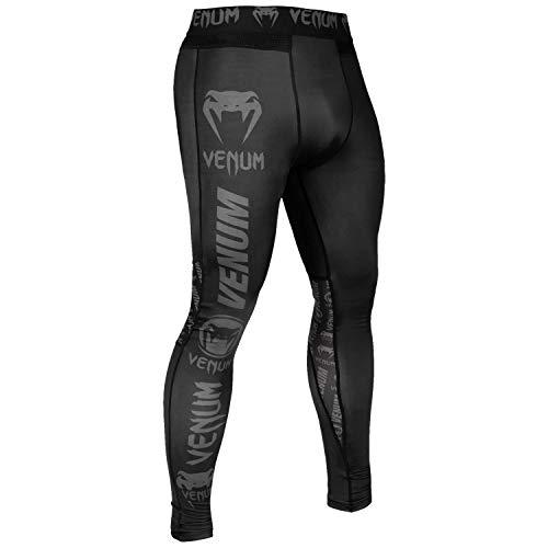 Venum Logos Pantalones de Chandal, Hombre, Negro/Negro, L