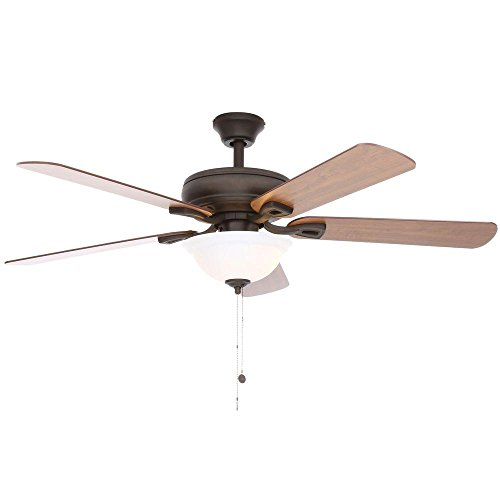 Hampton Bay 51564 Rothley 52 ' Indoor Oil-Rubbed Bronze...