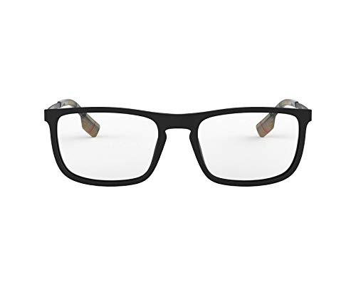 BURBERRY Brille (BE-2288 3464) Acetate Kunststoff matt schwarz