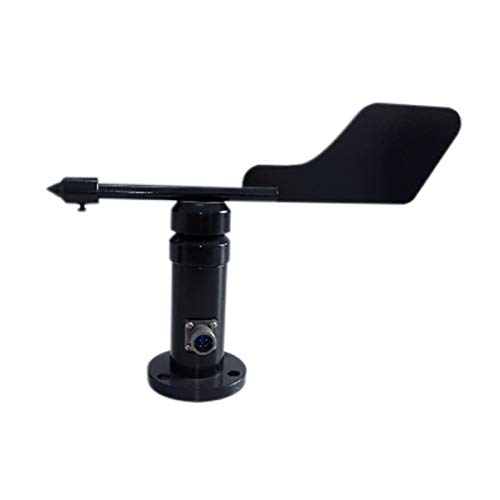 RETYLY Windfahne Windrichtungssensor Windgeschwindigkeitssensor RS485 Kommunikation Anemometer Pulshalter ohne Kabel